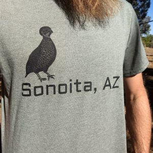 Arizona Quail shirt clothing apparel
